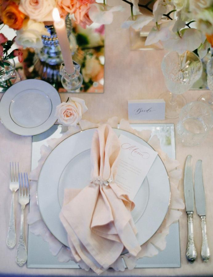 Federica Ceriani La Mise En Place Nel Mtrimonio Wedding The Mise En Place